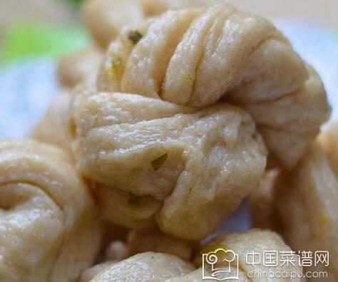 葱花椒盐花卷