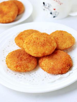 脆皮土豆糯米饼