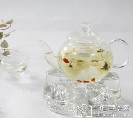 玉竹花旗参茶